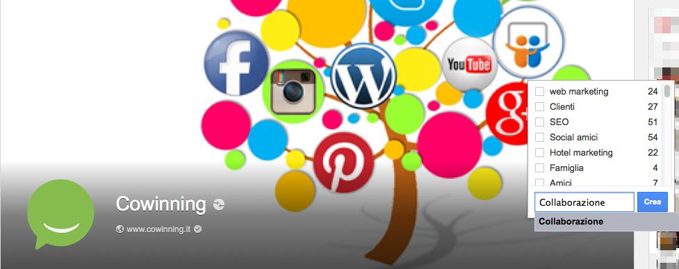 Come aggiungere alle cerchie dal profilo o dalla pagina Google Plus
