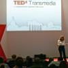 Nicoletta Iacobacci sul palco di TEDxTransmedia