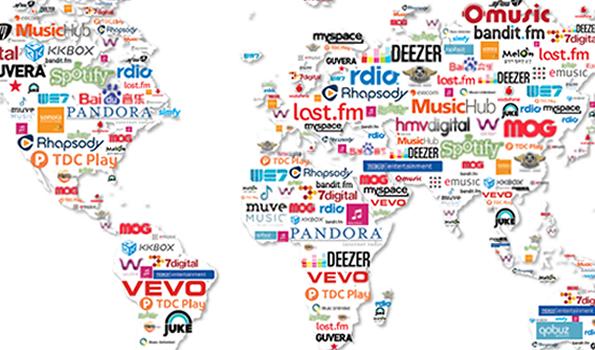 La copertina del rapporto ifpi 2012 su Digital Music
