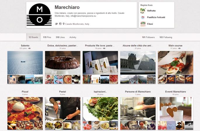 Ristorante Pizzeria Marechiaro su Pinterest