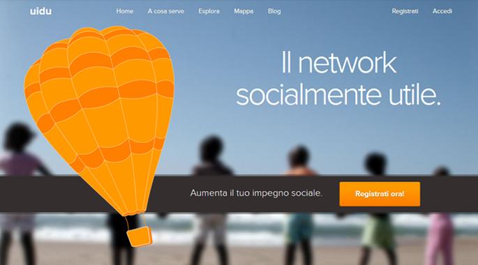 Uidu.org - il network socialmente utile