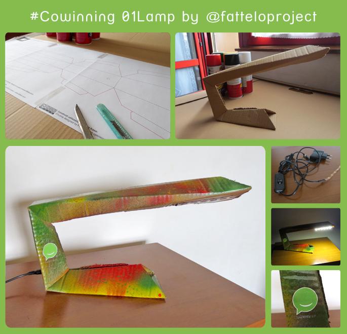 Cowinning 01 Lamp - Fattelo project