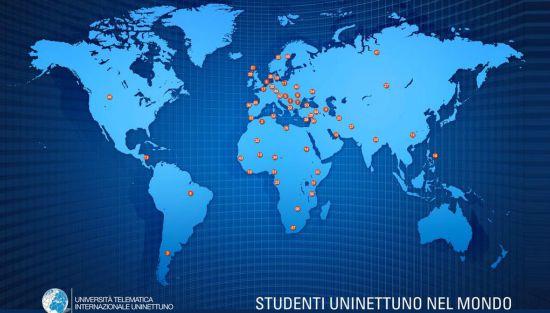 Studenti Uninettuno da 60 Paesi del mondo