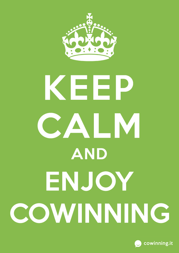 Keep Calm and Enjoy Cowinning