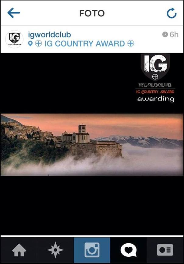 Ig Country Award