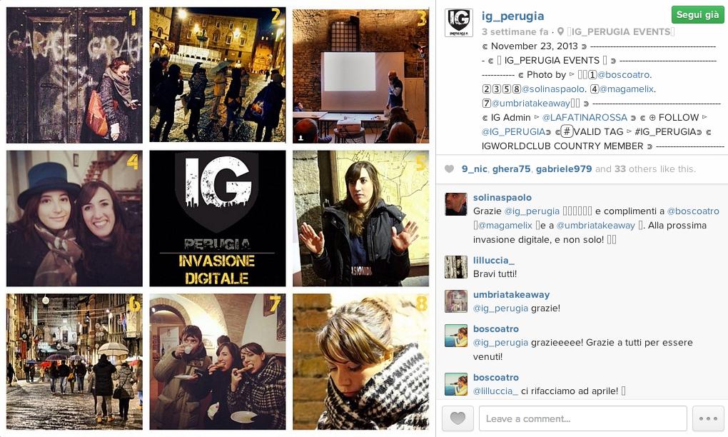 Immaginario Festival 2013 - IG_Perugia insieme ad Invasioni Digitali