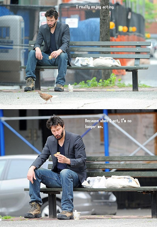 Sad keanu original