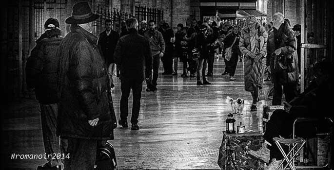 Scatto appartenente alla mostra Roma Noir di Massimo Lico