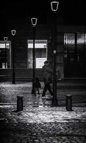 Storytelling fotografico Roma Noir