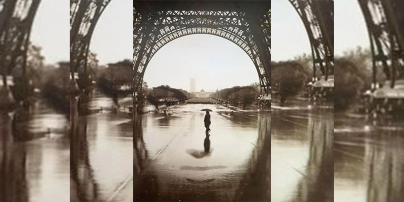 illusioni ottiche: Face of Paris