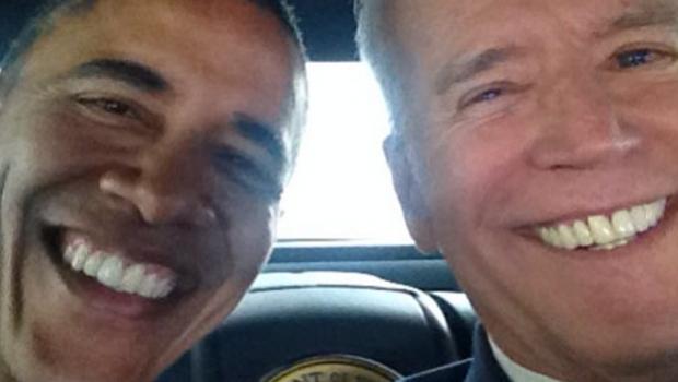 Il vice-presidente degli Stati Uniti Joe Biden si è iscritto ad Instagram e ha pubblicato il suo primo #selfie con il Presidente Obama