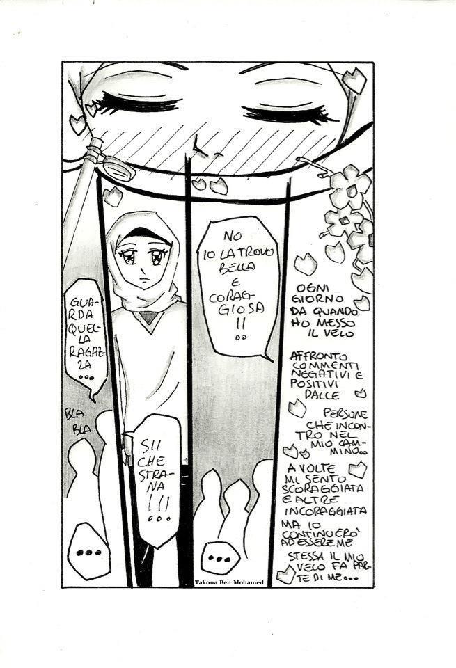 """Tavola pubblicata nel libro ''il velo nell'islam, storia, politica, estetica"""" Renata Pepiccelli, Carocci Editore."""