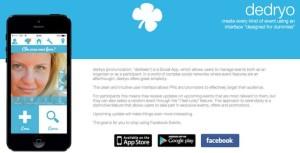 Arriva Dedryo, l'app per gestire gli eventi senza usare Facebook